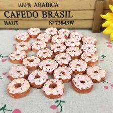 10Pieces Flat Back Resin Cabochon Kawaii Miniature Food DIY Flatback Embellishme