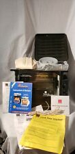 Ronco Compact Showtime Rotisserie Bbq Oven w/ Many Accessories Black Model 3000
