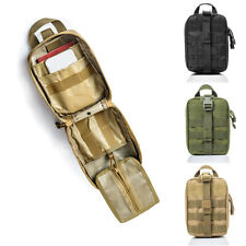 Military Molle First Aid Medical Emergency Carry Bag Pouch Hiking Waist Packs