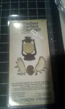 Sizzix / Ellison Tim Holtz Alterations Movers & Shapers dies Lantern & Antlers