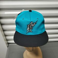 Vintage 1990's Florida Marlins MLB Snapback Hat Boys 5 to 10 Youth Size NWT NOS