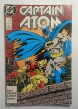 Captain Atom (Vol.3) #33 (Sept. 89) (Batman and Scarecrow Appearance)