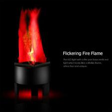 Neu LED Flammenlicht, Dynamisch Feuer Effektlicht Hänge simuliert Flamme Licht