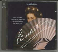 ELISABETH - Gesamtaufnahme - 2 CDs 1995 - LIVE Theater an der Wien- Neuwertig