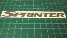 Mercedes Benz Sprinter 903 T1N replacement decal sticker graphic restoration