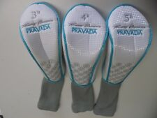 Lot 3 Tommy Armour Pravada Golf Club Head Covers 3h,4h,5h hybrid Iron  CC101