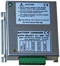 DATAKOM BC-4A Carregador de bateria, 4 Amp, 12 / 24VDC Voltagem Auto Detect, 170