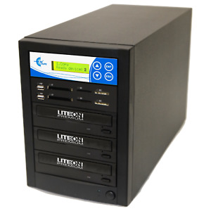EZ DUPE Media Mirror PLUS 1 to 2 Duplicator - Flash (SD CF MS MMC USB) / DVD