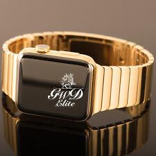 24K Gold Generation 1 Apple Watch 38mm with Link Bracelet