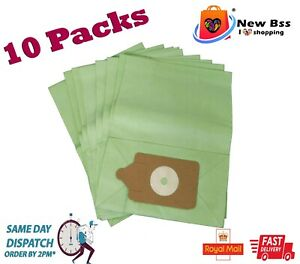10 X Paper Dust Bags For Henry Hoover Bags Vacuum Cleaner non genuine