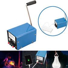 EB_ DV_ Portable Manual Hand-cranked Generator USB Charge Electric Dynamo Power