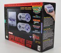 Super Nintendo Entertainment System Super NES Classic Edition SNES SU209088229
