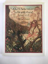 Alice's Adventures Wonderland Lewis Carroll Illustrated MIchael Hague 1st Ed