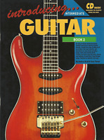 INTRODUCING GUITAR BOOK 2 Intermediate Tutor Sheet Music Book & CD Shop Soiled