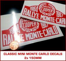 Classique Rover Mini Cooper Rallye Monte Carlo decals Paddy Hopkirk S