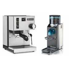 Rancilio Silvia V6 (E) Machine & Rocky Doserless Grinder Pack. By Coffee-A-Roma