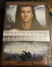 Braveheart movie DVD widescreen collectors edition sealed academy award gibson