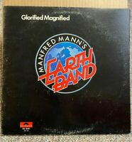MANFRED MANN - Glorified Magnified, LP record, original 1972, PD-5031 -- EX