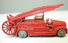 4 unidades de bomberos uso carro coleccionista modelos escarabajo destartalado descubrimos aprox 12cm Welly