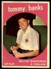 A&BC Footballers 1960 Black Back (B1) Tommy Banks Bolton Wanderers No. 44