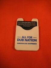 Wallet Cell Phone Golden State Warriors American Express SGA Brand New