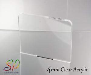 4mm Clear Acrylic Sheets Clear Cast Acrylic