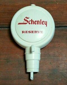 old vtg plastic Schenley Reserve whiskey bar bottle spout pourer dispenser
