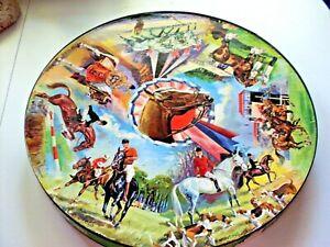 Vintage Springbok Circular Horse Puzzle