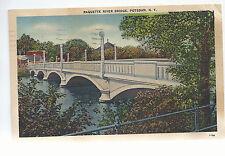 Raquette River Bridge  Potsdam NY     Mailed 1943   Postcard 764