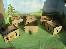 28mm Set N 5x Adobe Desert arab Afghaniastan Wild West buildings Scenery