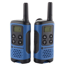 MOTOROLA - TLKR T41 Walkie Talkie Consumer Radio Blue