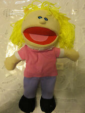 Plush Happy Kids Hand Puppet type and color May Vary (1 Puppet per order)