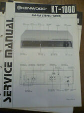 Kenwood KT-1000  Stereo Tuner Service Manual