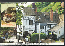 Nottinghamshire Postcard - Nottingham Pubs - The Trip To Jerusalem A7867
