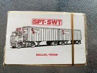 Vintage Cotton Belt Southern Pacific Railroad Playing Cards Dallas Texas NOS