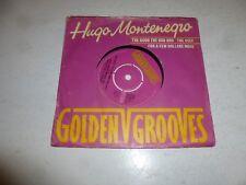 """Hugo Montenegro-El Bueno, El Malo Y El Feo - 1981 Reino Unido 7"""" SINGLE VINILO"""