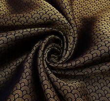 Brokat Stoff abstrakte Schneiderei 45 Zoll breit Nähen Handwerk von den Ya