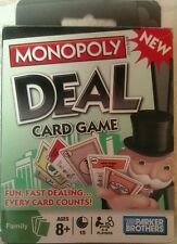 New In Box.Monopoly Deal Card Game. 2 Players. From Parker Brothers.