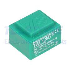 1pcs  Trasformatore incapsulato 1,5VA 230VAC 6V Montaggio PCB IP00 TELSTORE