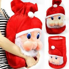 Christmas Kids Candy Gift Bags Backpack Santa Claus Storage Bag Popular