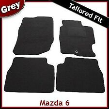 Mazda 6 Mk1 2002-2007 Fully Tailored Fitted Carpet Car Floor Mats GREY