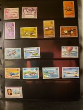 Seychelles Aircraft & Aviation Stamps Lot of 15 - MNH -See List