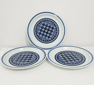 Vintage ROYAL DOULTON 26 cm 3 Dinner Plates MADE IN ENGLAND LS1005