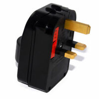 Schuko Euro Plug Socket to 13A 3 Pin UK Plug Adapter [Earthed] [005296]