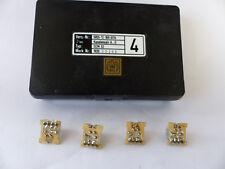 Kanaleinsatz A...D für SEL SEM52 / SEM 52 Funkgerät, Quarz-Set A4 bis D4, NOS
