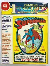 Famous 1st Edition Superman Treasury Edition Whitman Edition 1979 VG/FN