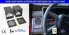 Kit casse Fiat Panda porta stereo autoradio supporti auto audio per 1986 >2003