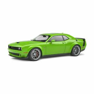 Solido Soli1805704 Dodge Challenger R/T Scat Pack Widebody Green 2020 1/18