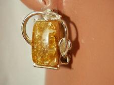 So Pretty Signed Coro Vintage 1950's Confetti Lucite Earrings  2197s