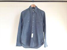 LEVI STRAUSS & CO. LVC CHAMBRAY SHIRT LEVI'S VINTAGE CLOTHING BIG E LEVIS XS